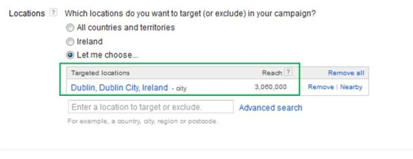 How to create Google ads - Campaign settings screen 2